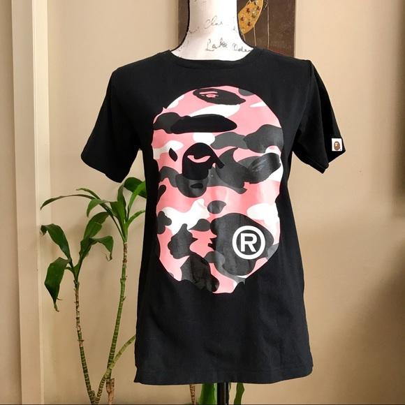 a0d614aba Bape Tops   Ladies Camo T Shirt   Poshmark